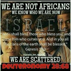 The only group of people to be sent off in ships and scattered. Also, only group of people to always be enslaved and punishment for not obeying YAH! It's in you KJV Bible! Black Hebrew Israelites, 12 Tribes Of Israel, Tribe Of Judah, Black History Facts, Bible Truth, We Are The World, Black Pride, Know The Truth, Torah