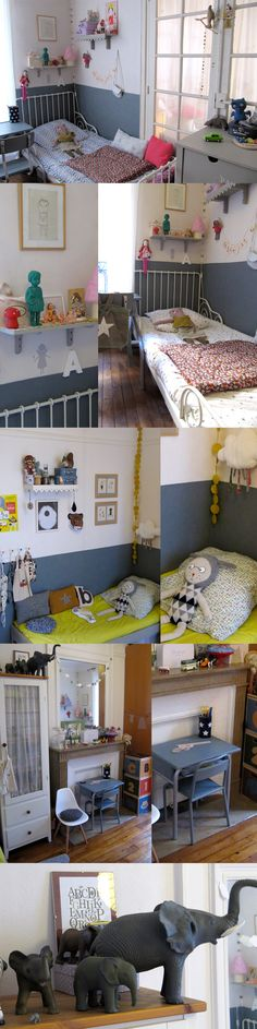 I like the idea of painting only a portion of the wall, especially since we live in an apartment. @Wyatt Draggoo