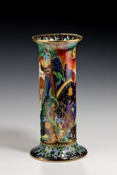 """Tennants Auctioneers: A Wedgwood Fairyland Lustre """"Elves and Bell ..."""