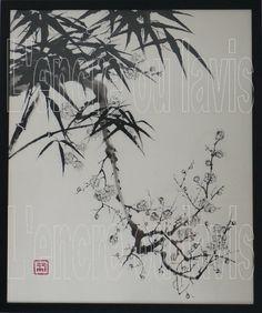 Prunus et bambous