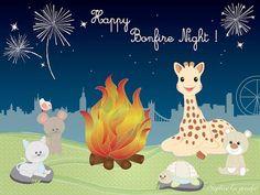 Sophie la girafe y BB Grenadine os desean un Feliz San Juan ¡disfrutad de esta noche mágica!  #sophielagirafe   #verbena   #sanjuan  @Vulli