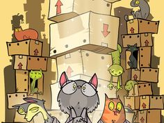 Schrödinger's Cats is a pseudo-scientific card game of strategic uncertainty. WHAT'S IN THE BOX??