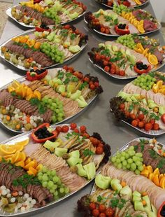 1 million+ Stunning Free Images to Use Anywhere Veggie Platters, Meat Platter, Cheese Platters, Meat Trays, Meat Appetizers, Appetizer Recipes, Brunch, Salad Bar Party, Food Garnishes