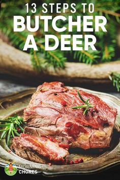 13 Easy Steps on How to Butcher a Deer and Get the Perfect Venison Venison is a healthy meat for consumption. Knowing how to butcher a deer is vital in a homesteading lifestyle. We'll explain how in 13 easy steps. Quail Hunting, Deer Hunting Tips, Turkey Hunting, Hunting Stuff, Coyote Hunting, Pheasant Hunting, Whitetail Hunting, Big Game Hunting, Hunting Dogs