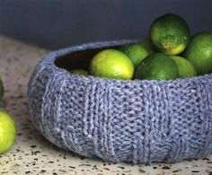 Ravelry: Ribbed Fruit Bowl Cover pattern by Ruth Cross