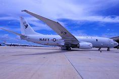 USN Boeing P-8A Poseidon (Anti-submarine warfare, anti-surface warfare and maritime patrol aircraft)
