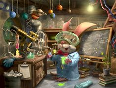 Mouse Scientist by Chris Beatrice