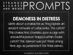 Demoness in distress.