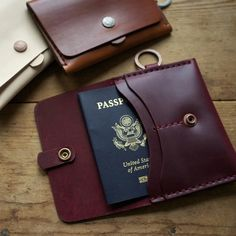 Corter Leather Passport Case | stupidDOPE.com | Lifestyle Magazine