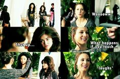 PLL Funny Quotes