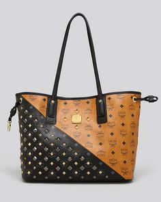MCM Tote - xmasssss gift please, thanks Santa! Mcm Handbags, Fashion Handbags, Fashion Bags, Mcm Bags, Purses And Bags, Shopper Tote, Tote Bag, Micheal Kors Handbag, Bags Game