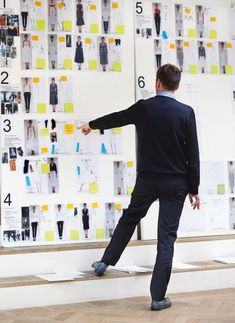 The Step-by-Step Creation of Look 46 from Raf Simons's First Dior Runway Show.