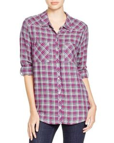 Soft Joie Eirene Plaid Shirt | Bloomingdale's