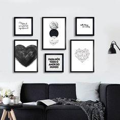 New wall frames interior sofas ideas Modern Wall Decor, Metal Wall Decor, Home Decor Wall Art, Diy Wall Decor, Bedroom Decor, Home Room Design, House Design, Wc Decoration, Wall Decor Amazon