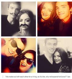 Lucy & Ian:) :) :) :) <3 <3