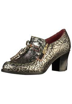 2f3e21fd1bd224 Laura Vita Pumps grau anthrazit silber  schuhe  fashion  shoes  pumpshoes   pumps