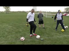Soccer Goalkeeper Dive Training Part 6