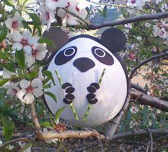 Panda Pinata With Bamboo.  Panda Birthday Party.  by PinataPals