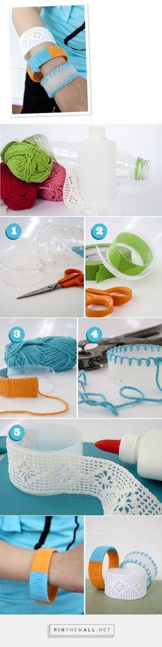Återvunna armband - Pysselbolaget - Enkla roliga pyssel för barn och vuxna - created via http://pinthemall.net