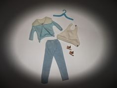 "VERY PRETTY VINTAGE BARBIE OUTFIT ""MOOD FOR MUSIC #940"""