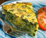 Crustless Spinach, onion and feta Quiche. I have made this as a whole quiche and in cupcake pan. It is amazing! AND low calories! Take your health into your own hands!