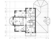 Проект двухэтажного дома с бассейном «Шербон» Floor Plans, Projects, Design, Log Projects, Blue Prints, Floor Plan Drawing, House Floor Plans