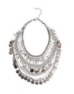 ASOS Premium Indian Coin Necklace This is a fun pce. of costume jewelry!