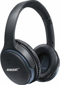 Bose® - SoundLink® Wireless Around-Ear Headphones II - Black - Front Zoom