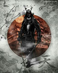 Photomanipulation edit by me Hope you like it! Samurai stock from: Japan Flag from: Thanks a lot Ronin Samurai, Samurai Warrior, Japanese Drawing, Arte Ninja, Samurai Artwork, Japanese Warrior, Japanese Art Samurai, Art Asiatique, Japan Tattoo