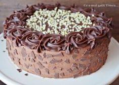 Tort cu alune ciocolata si rom