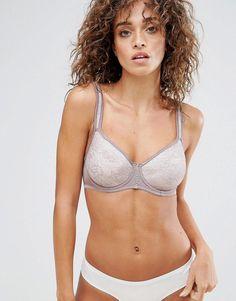 Dorina Candice Spacer T-Shirt Bra - Brown