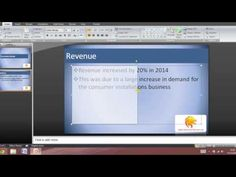 This is an updated version on how to make a professional Powerpoint on Microsoft Office PowerPoint 2007. If you have any comments or suggestions please put t...