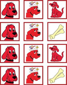 Clifford Stickers  Stickers