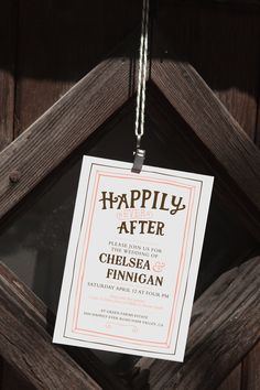 This enchanted rustic invite is full of personality. It is fully customizable so have some fun picking out colors that match your wedding theme and fonts that you love!