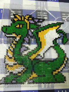 Dragon perler bead