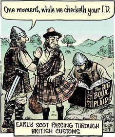 Don't lift that kilt too high! Glasgow, Edinburgh, Genealogy Humor, Cosplay Anime, Men In Kilts, Scottish Clans, Scottish Thistle, Friday Humor, Friday Facts