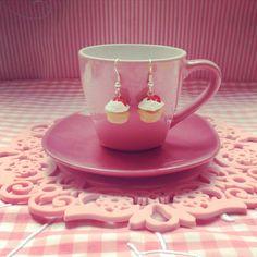 Cupcake earrings  www.facebook.com/MerengueSweet