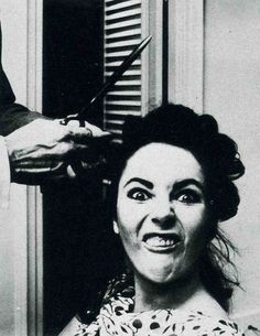 Liz Taylor had to try awful hard not to be pretty.