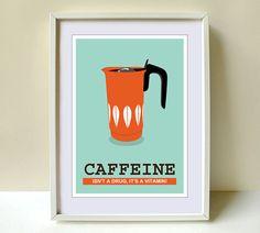 Coffee print Art Kitchen Cathrineholm Kitchen art by Cutzman, $10.00