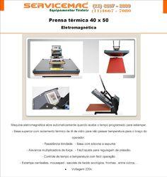 Servicemac Comércio Equipamentos Têxteis.: