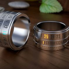 Ring Clock: A Ring That Gives You Time On Your Hands. Ring Clock is a beautiful marriage of the ring and the watch. You will be rewarded with the time, when you play with this gadget.