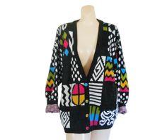 Vintage Plus Size Sweater Plus Size Cardigan Plus by #ShineBrightVintage