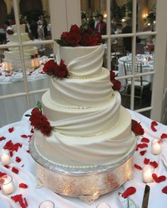tartas de boda wedding cake Square Wedding Cakes for Your