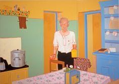 Patricia Patterson – ARTnews.com Kneeling In Prayer, West Coast Of Ireland, Female Painters, Yellow Mugs, Young Art, Arts Award, American Art, Art Boards, Presents