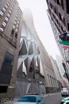 Robert Rauschenberg Foundation by Asymptote Architecture at Pine Street