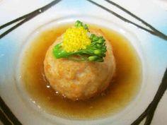 おもてなし 鶏蓮根の揚げ饅頭の画像