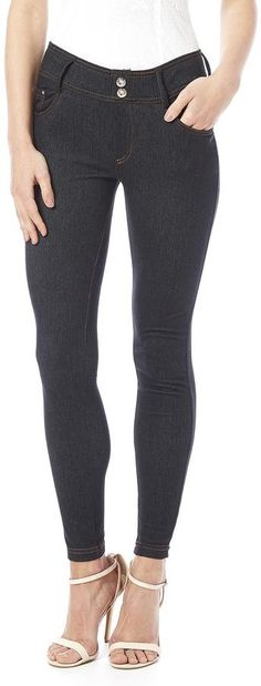 Daisy's Fashions Crystal Accented Jeggings