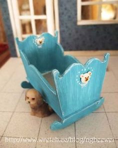 how to: dollhouse cradle