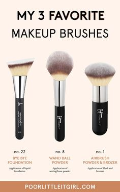The 3 Makeup Brushes I Use Every Day | Poor Little It Girl