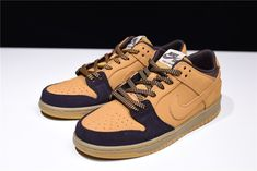 """d5777db204 New SB Dunk Low """"Lewis Marnell"""" Cappuccino/Wheat-Bronze Free Shipping Air"""